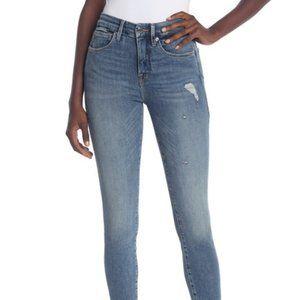 NEW Good American Good Legs Crop Skinny Jeans